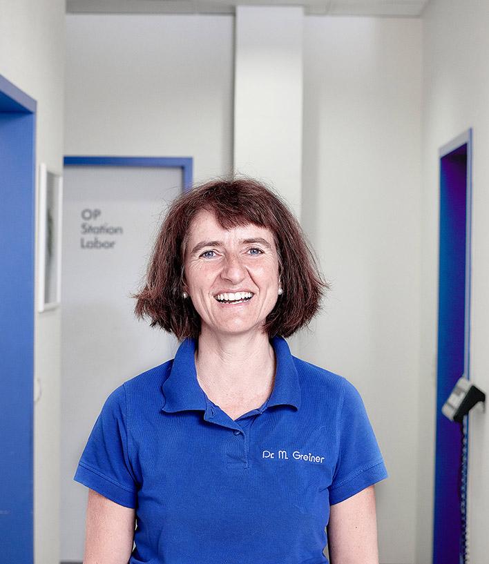 Kleintierpraxis Greiner, Neu-Ulm / Pfuhl –Team, Dr. med. vet. Michaela Greiner