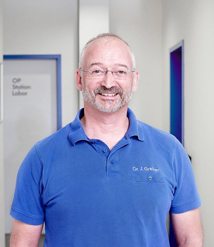 Kleintierpraxis Greiner, Neu-Ulm / Pfuhl –Team, Dr. med. vet. Stefan Greiner